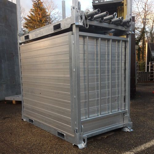 industrial use container / storage / for construction sites / modular
