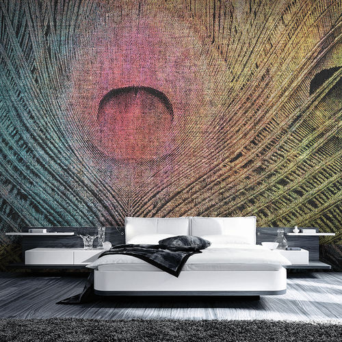 contemporary wallpaper / fabric / vinyl / animal skin