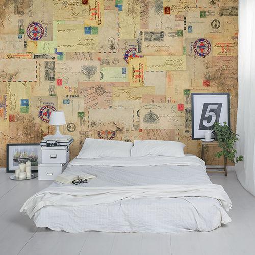 contemporary wallpaper / fabric / vinyl / patterned