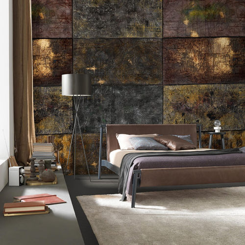 contemporary wallpaper / fabric / vinyl / patterned