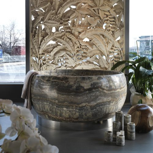free-standing bathtub - Elite Stone