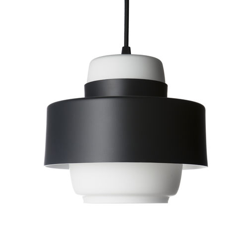 pendant lamp / contemporary / aluminum / blown glass