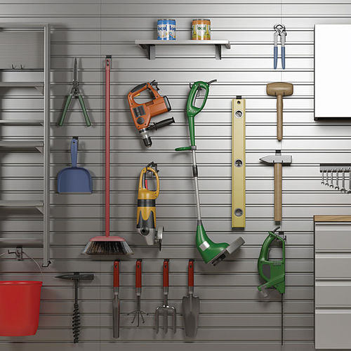 wall-mounted storage system