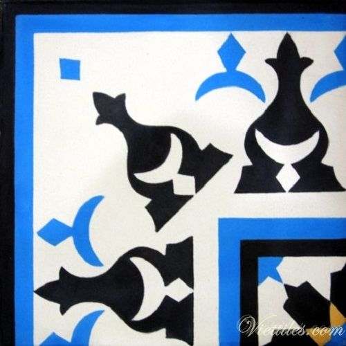 cement border tile