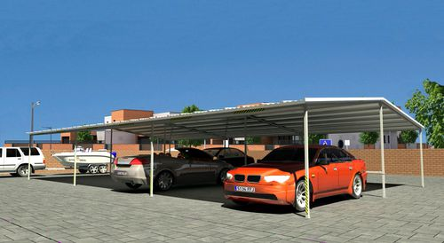 galvanized steel carport
