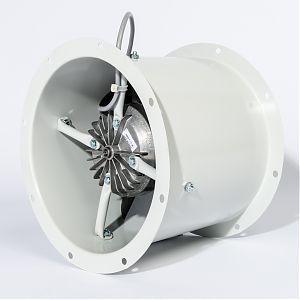 axial fan / duct / industrial / aluminum