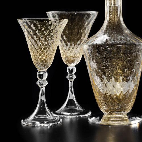 wine glass / stemware / blown glass / commercial