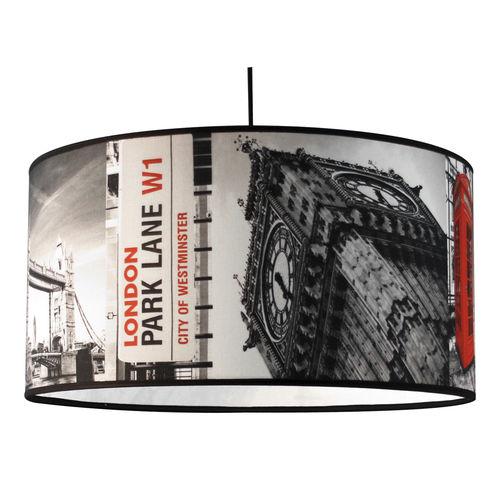 pendant lamp / contemporary / cotton / PVC