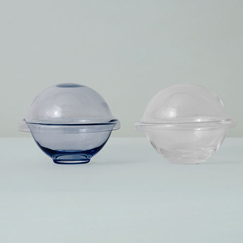 blown glass candy jar