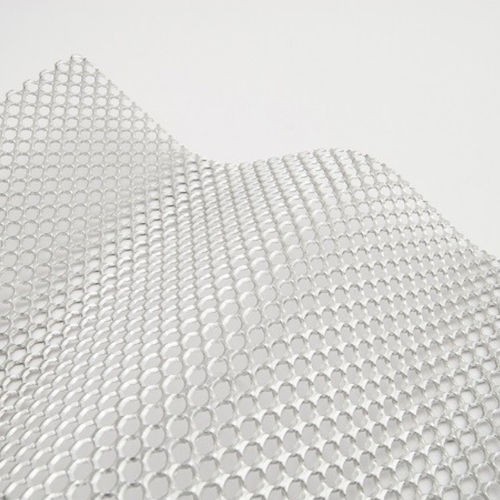 perforated metal sheet / decorative / corrugated / aluminum