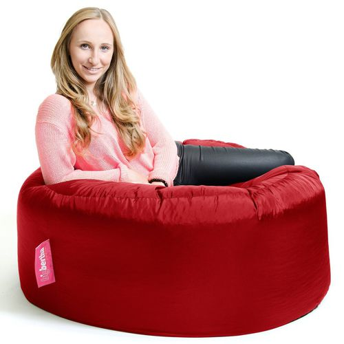 contemporary bean bag / canvas / red / outdoor