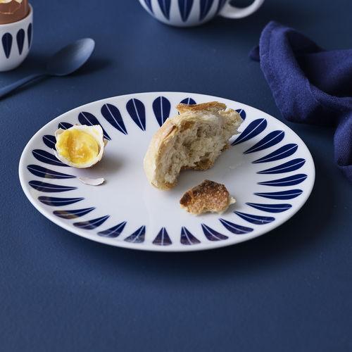 flat plate / soup / round / porcelain