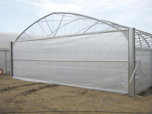 commercial greenhouse / gardening / single-span / plastic
