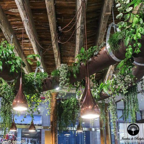 hanging planter stand