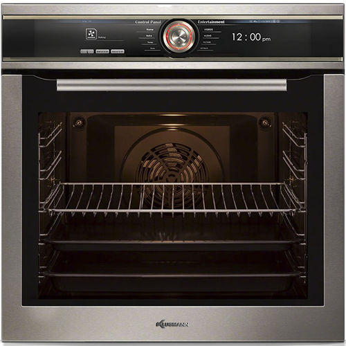 electric oven / built-in / single-chamber / with grill