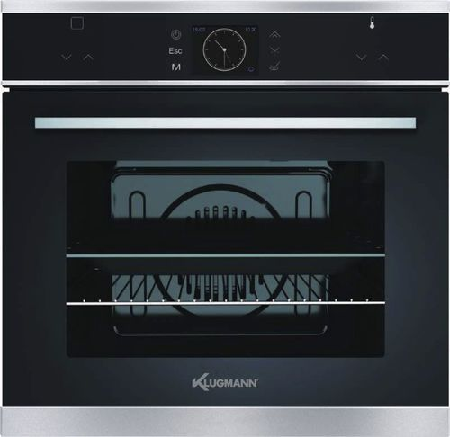 electric oven / single-chamber / with grill / built-in