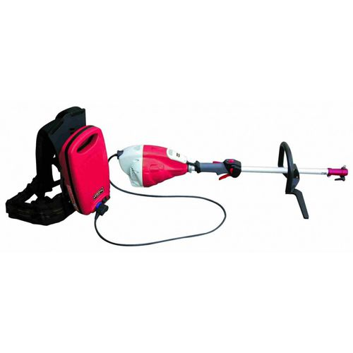 battery-powered brush cutter / backpack
