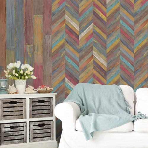 PVC wallcovering / home / commercial / textured