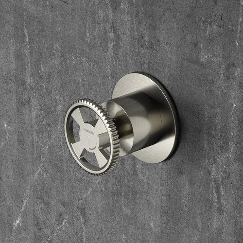 built-in shut-off valve