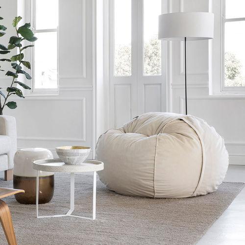 contemporary bean bag / fabric / child's / gray