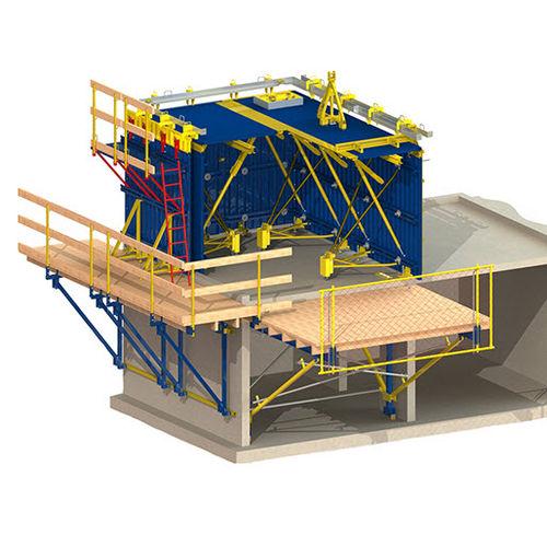 tunnel formwork / modular / steel