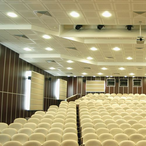 gypsum suspended ceiling / tile / acoustic