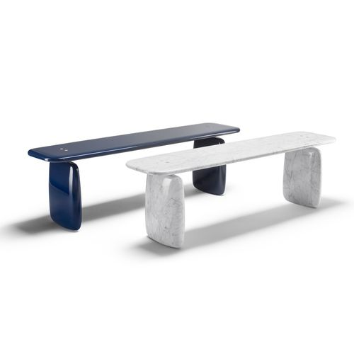 contemporary bench / marble
