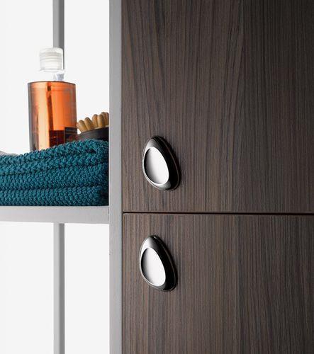 contemporary furniture knob / metal