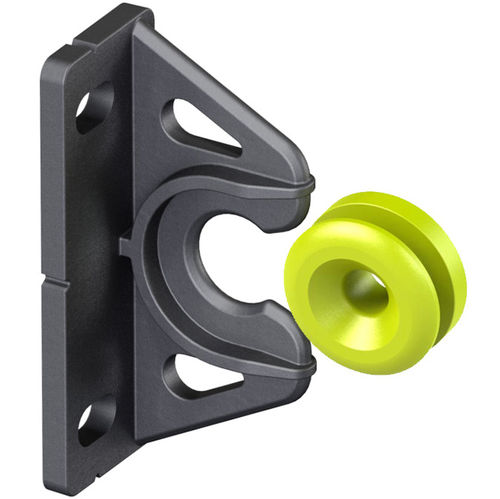 panel fastening system / plastic / for kitchens / for false ceilings