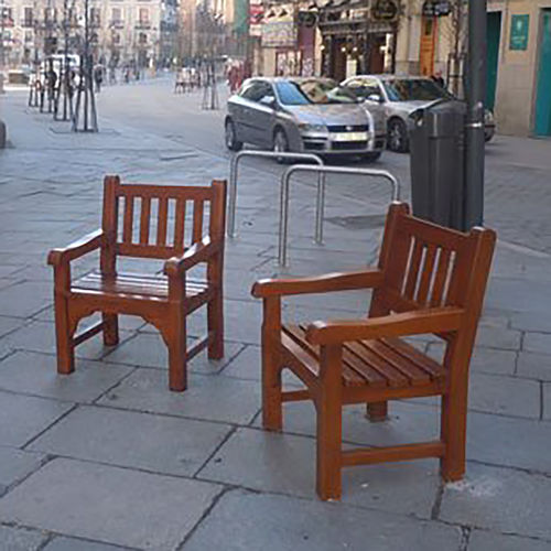 traditional urban armchair