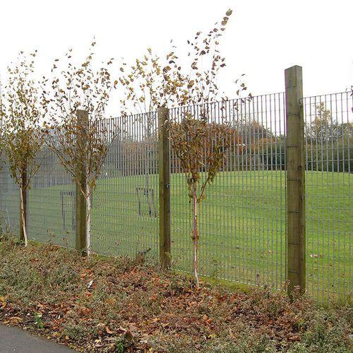 public space fence