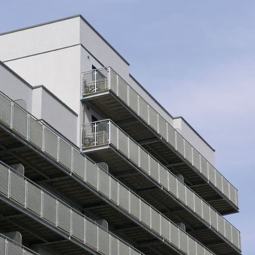 mesh balcony