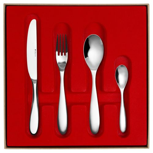 polished stainless steel cutlery