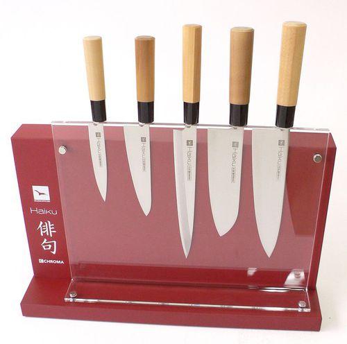 solid wood knife block