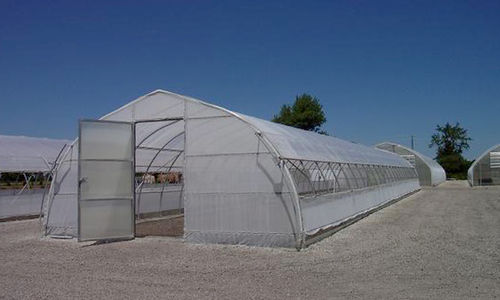 commercial greenhouse / commercial production / multi span / aluminum frame