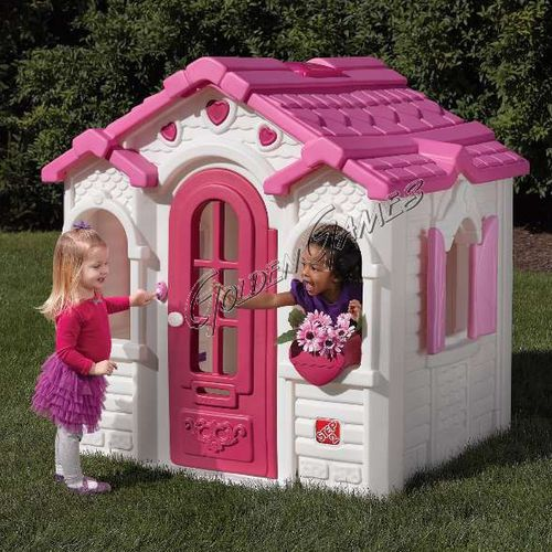 garden playhouse / floor-mounted