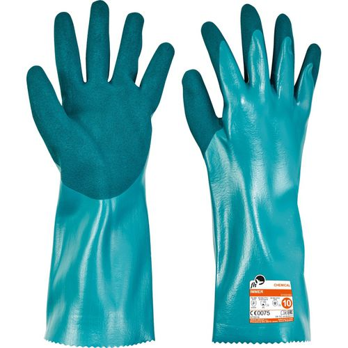 anti-cut glove / chemical protection / nitrile
