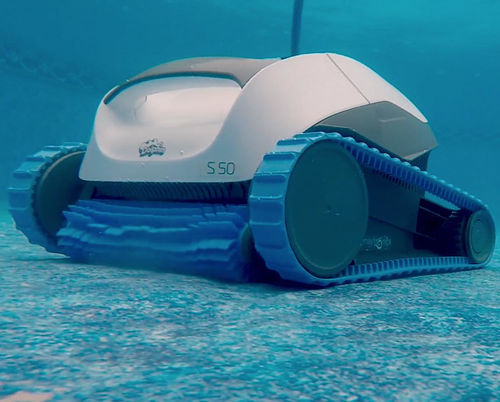 electric robotic pool cleaner / automatic / for domestic use / vacuum