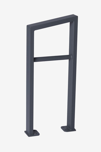 powder-coated steel bike rack - Punto Design