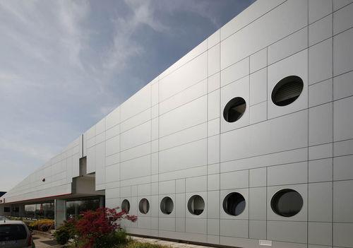 panel cladding / composite / aluminum / matte