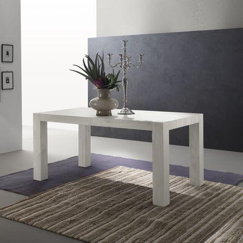 contemporary table / melamine / rectangular / extending