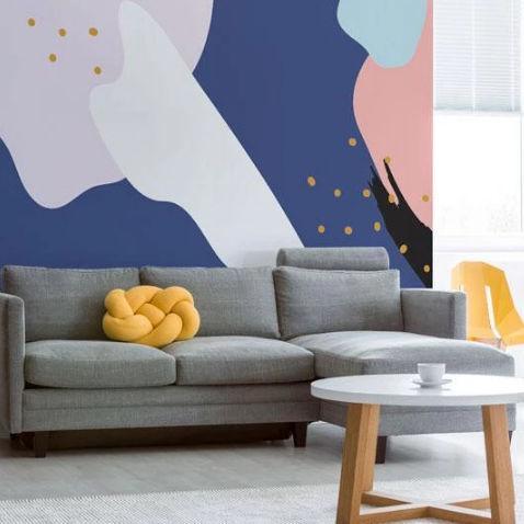 contemporary wallpaper / fabric / synthetic / vinyl