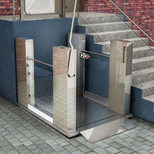 wheelchair lifting platform