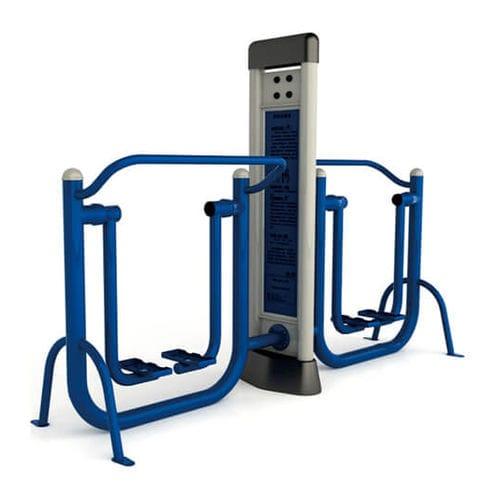double outdoor air walker