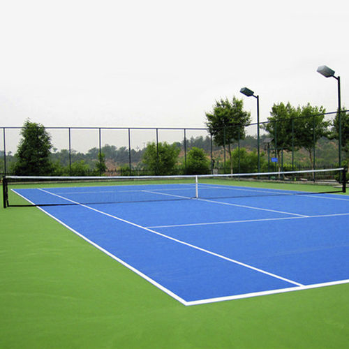 polyethylene (PE) sports pitch / for outdoor use / for tennis courts