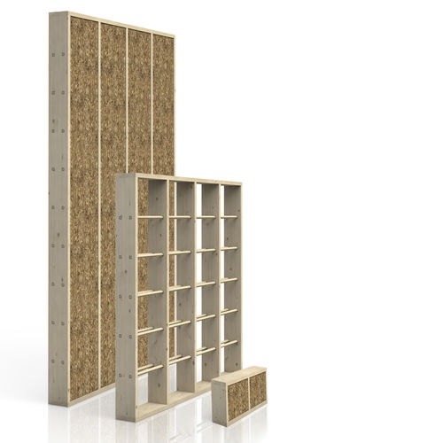 wall with intergrated insulation