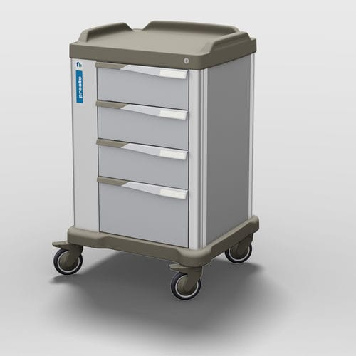 healthcare facility trolley