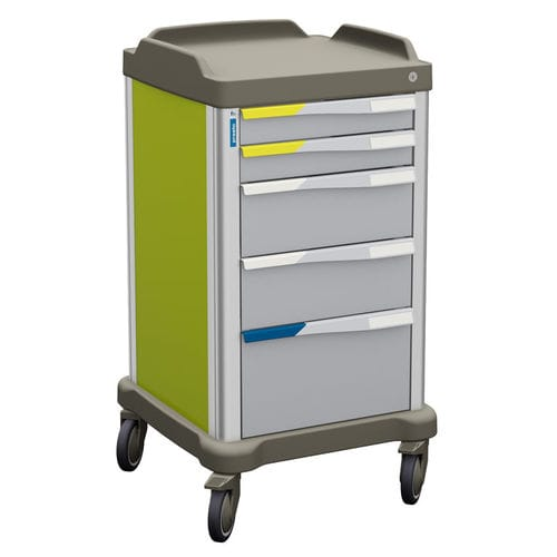 healthcare facility trolley