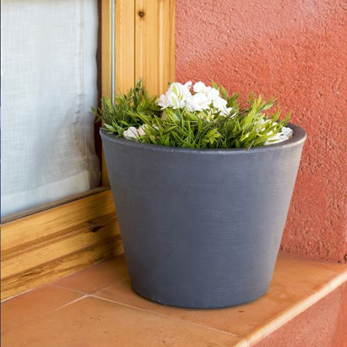 polyethylene flower pot