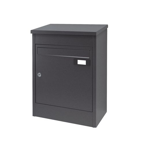 Wall Mounted Mailbox Montblanc Pbox Joma Individual With Parcel Box